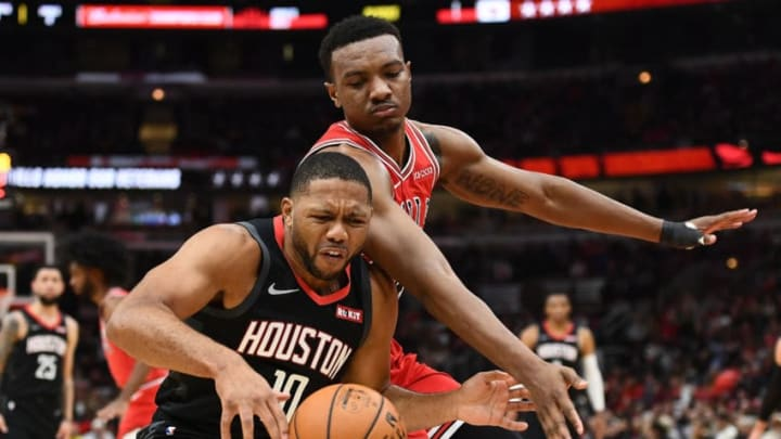 Eric Gordon #10 of the Houston Rockets (Photo by Stacy Revere/Getty Images)