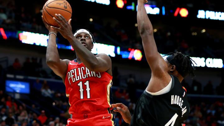 New Orleans Pelicans Jrue Holiday (Photo by Sean Gardner/Getty Images)