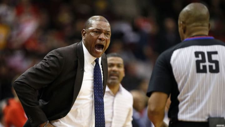 Houston Rockets Doc Rivers LA Clippers (Photo by Bob Levey/Getty Images)