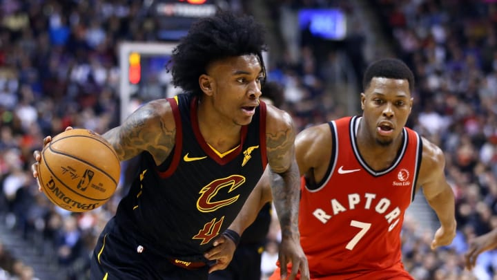 Kevin Porter Jr. #4 of the Cleveland Cavaliers (Photo by Vaughn Ridley/Getty Images)