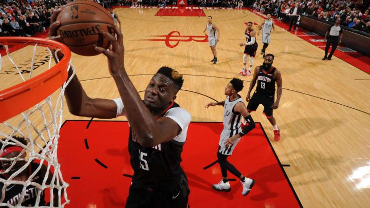 Houston Rockets Clint Capela (Photo by Bill Baptist/NBAE via Getty Images)