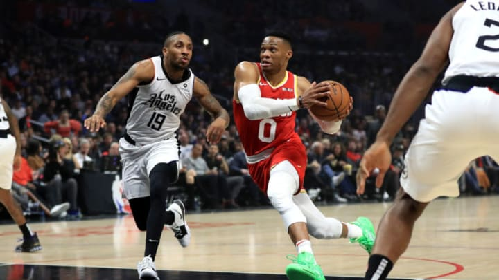 Houston Rockets Russell Westbrook (Photo by Sean M. Haffey/Getty Images)