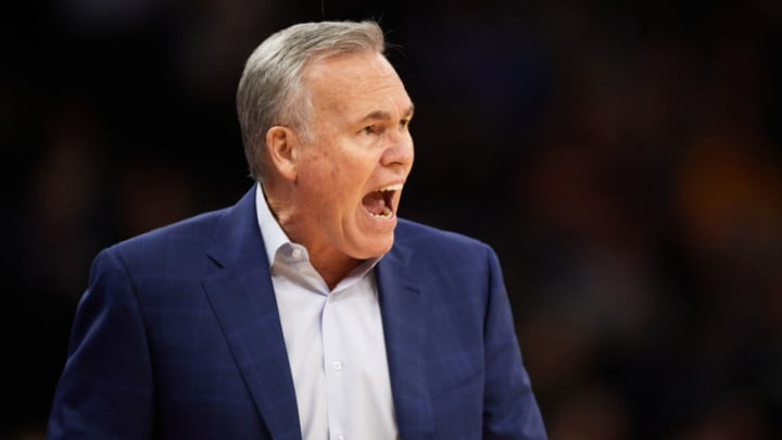 Houston Rockets coach Mike D'Antoni (Photo by Hannah Foslien/Getty Images)