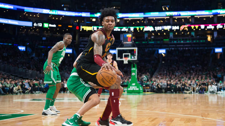 Kevin Porter Jr. #4 of the Cleveland Cavaliers (Photo by Kathryn Riley/Getty Images)