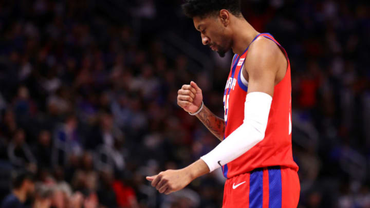 Christian Wood of the Detroit Pistons (Photo by Gregory Shamus/Getty Images)