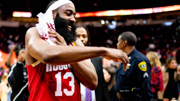 Houston Rockets James Harden (Photo by Cato Cataldo/NBAE via Getty Images)