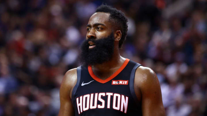 James Harden #13 of the Houston Rockets (Photo by Vaughn Ridley/Getty Images)