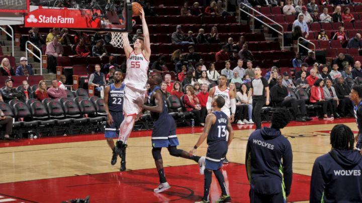 Houston Rockets Isaiah Hartenstein (Photo by Bill Baptist/NBAE via Getty Images)