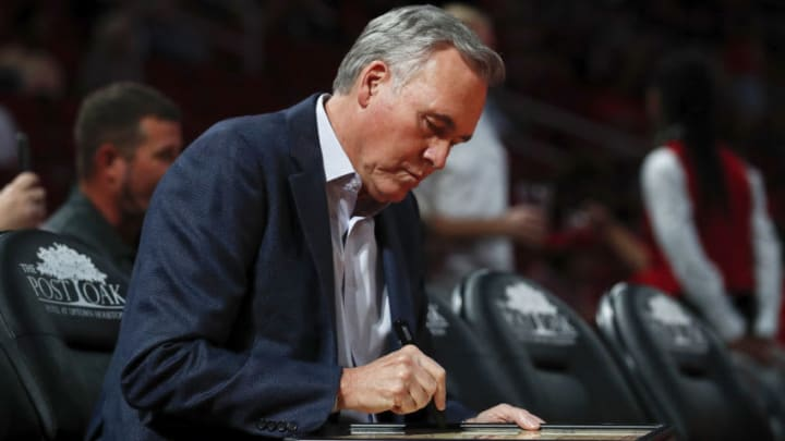 Mike D'Antoni of the Houston Rockets (Photo by Tim Warner/Getty Images)