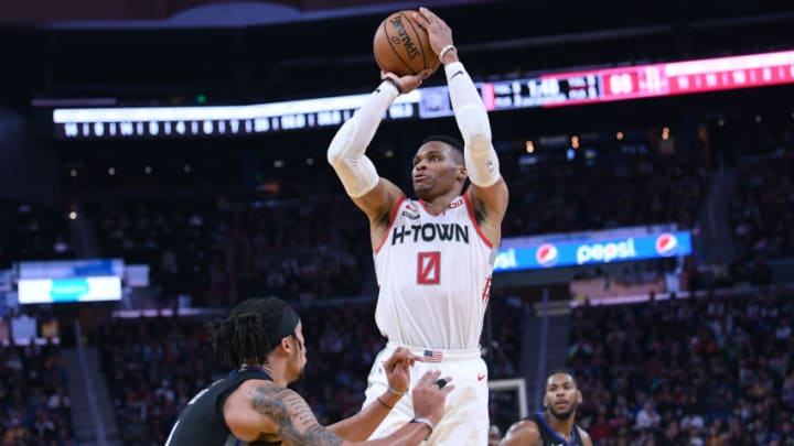 Houston Rockets Russell Westbrook (Photo by Thearon W. Henderson/Getty Images)