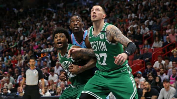 Daniel Theis Boston Celtics (David Santiago/Miami Herald/Tribune News Service via Getty Images)