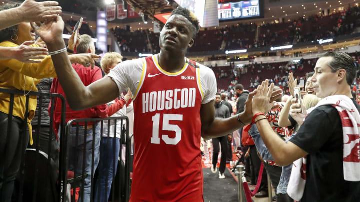 Houston Rockets Clint Capela (Photo by Tim Warner/Getty Images) (Photo by Tim Warner/Getty Images)