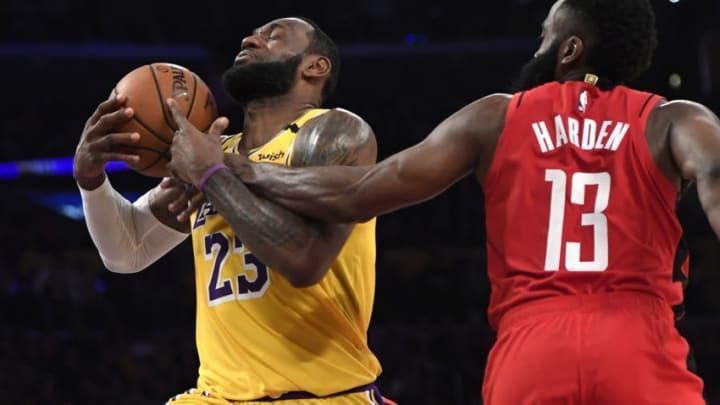 Houston Rockets James Harden (Photo by Kevork Djansezian/Getty Images)