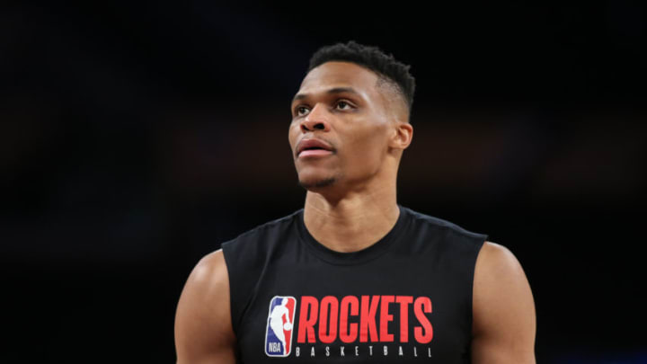 Houston Rockets Russell Westbrook (Photo by Jevone Moore/Icon Sportswire via Getty Images)