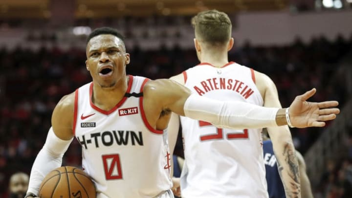 Houston Rockets Russell Westbrook (Photo by Tim Warner/Getty Images)