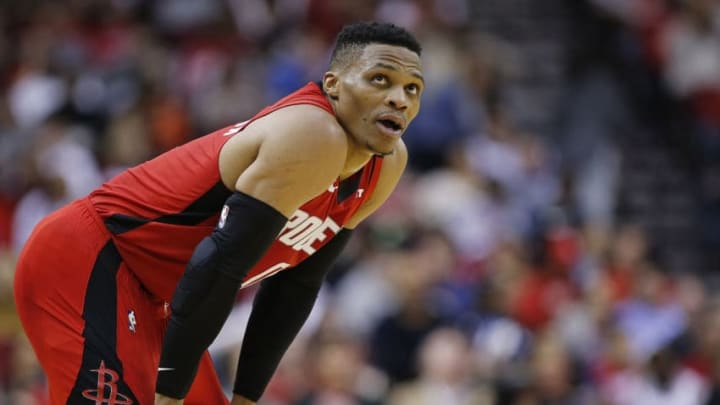 Houston Rockets Russell Westbrook (Photo by Bob Levey/Getty Images)