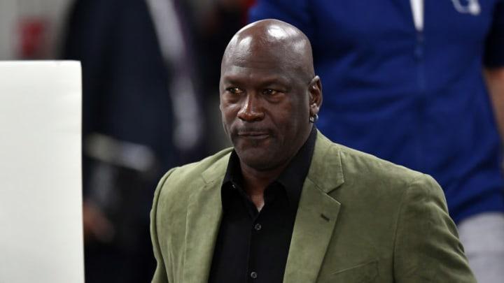 Michael Jordan Charlotte Hornets (Photo by Aurelien Meunier/Getty Images)