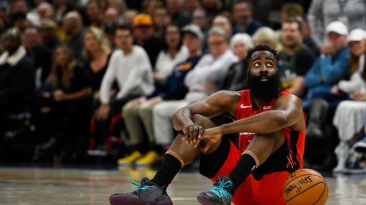 Houston Rockets James Harden (Photo by Alex Goodlett/Getty Images)