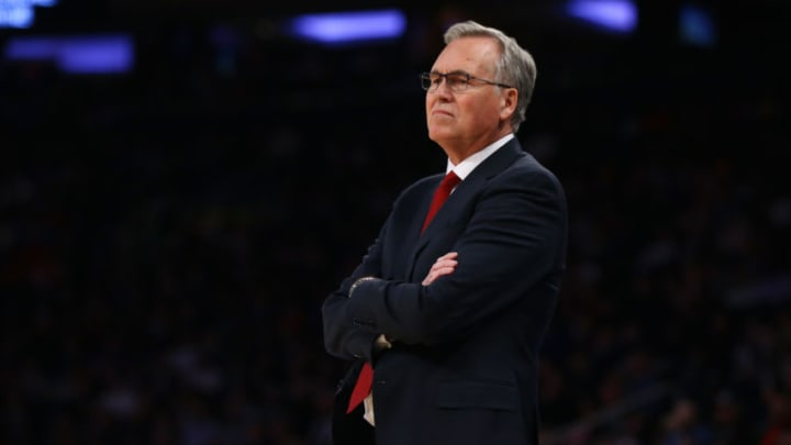 Head Coach Mike D'Antoni of the Houston Rockets (Photo by Mike Stobe/Getty Images)