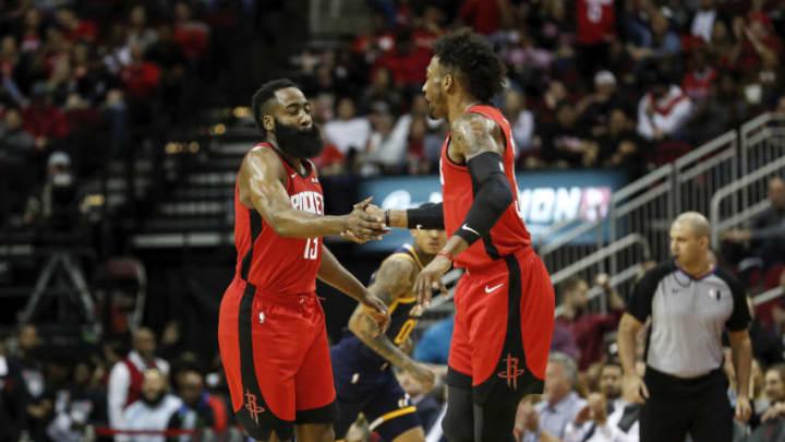 Houston Rockets Robert Covington James Harden (Photo by Tim Warner/Getty Images)