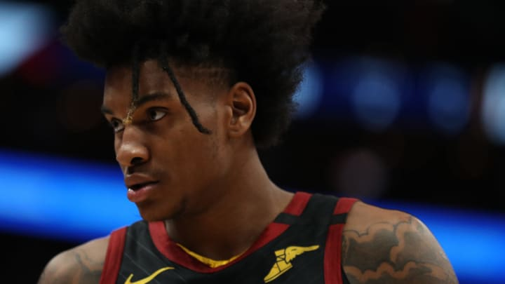 Kevin Porter Jr. #4 of the Cleveland Cavaliers (Photo by Patrick Smith/Getty Images)