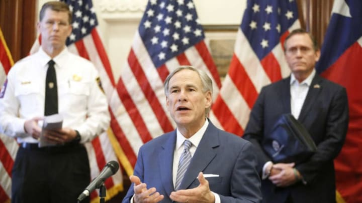 Texas Governor Greg Abbott (Photo by Tom Fox-Pool/Getty Images)