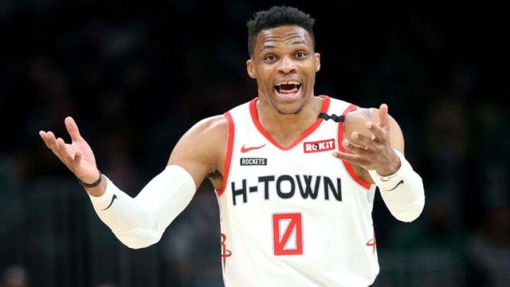 Houston Rockets Russell Westbrook (Photo by Maddie Meyer/Getty Images)