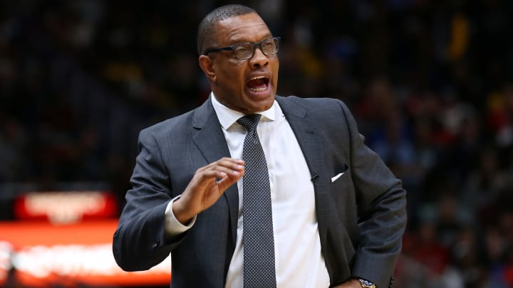 Head coach Alvin Gentry of the New Orleans Pelicans (Photo by Jonathan Bachman/Getty Images)