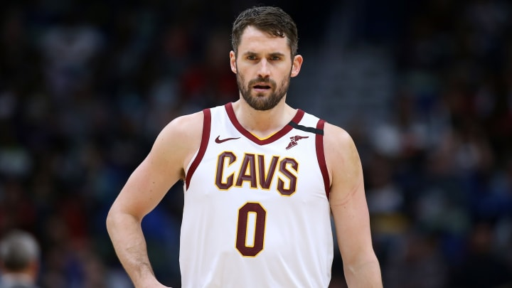 Kevin Love #0 of the Cleveland Cavaliers (Photo by Jonathan Bachman/Getty Images)
