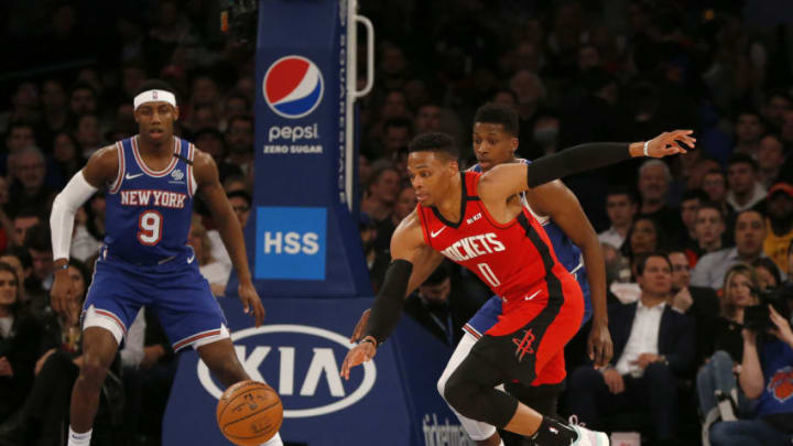 Houston Rockets Russell Westbrook (Photo by Jim McIsaac/Getty Images)