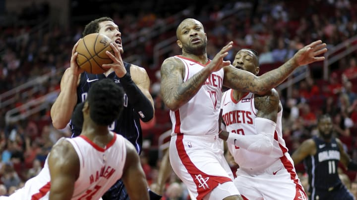 Houston Rockets P.J. Tucker (Photo by Tim Warner/Getty Images)