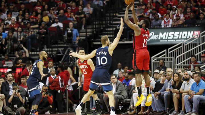 Houston Rockets James Harden (Photo by Tim Warner/Getty Images)