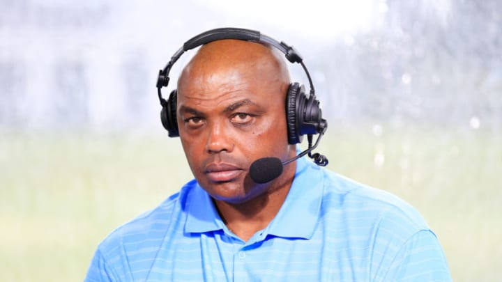 Charles Barkley (Photo by Cliff Hawkins/Getty Images for The Match)