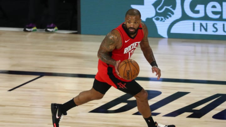 Houston Rockets P.J. Tucker (Photo by Kim Klement-Pool/Getty Images)