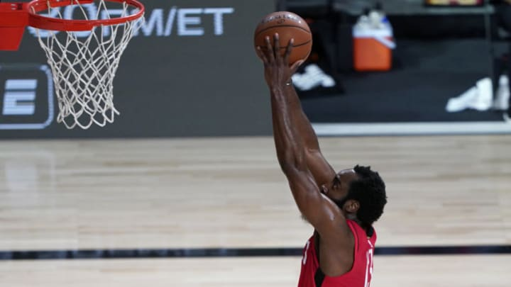 Houston Rockets James Harden (Photo by Ashley Landis-Pool/Getty Images)