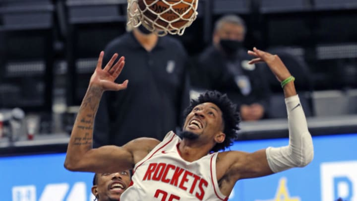 Christian Wood #35 of the Houston Rockets (Photo by Ronald Cortes/Getty Images)