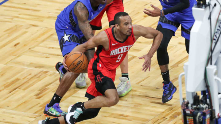 Avery Bradley #9 of the Houston Rockets (Photo by Alex Menendez/Getty Images)