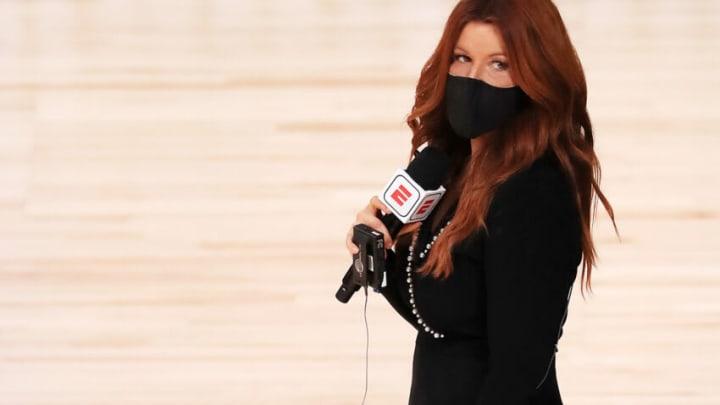 ESPN reporter Rachel Nichols (Photo by Mike Ehrmann/Getty Images)