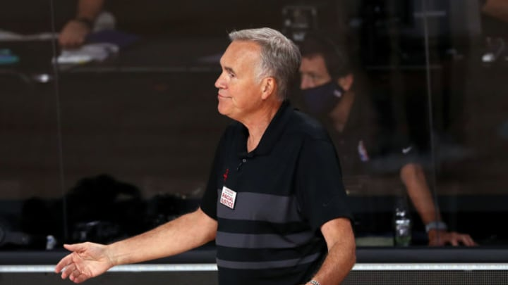 Houston Rockets Mike D'Antoni (Photo by Mike Ehrmann/Getty Images)