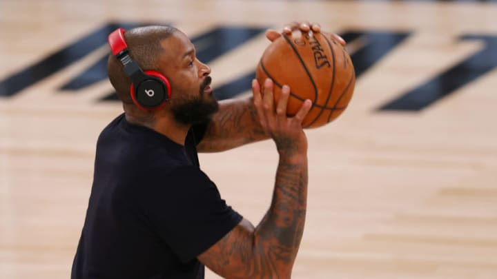 P.J. Tucker #17 of the Houston Rockets (Photo by Mike Ehrmann/Getty Images)