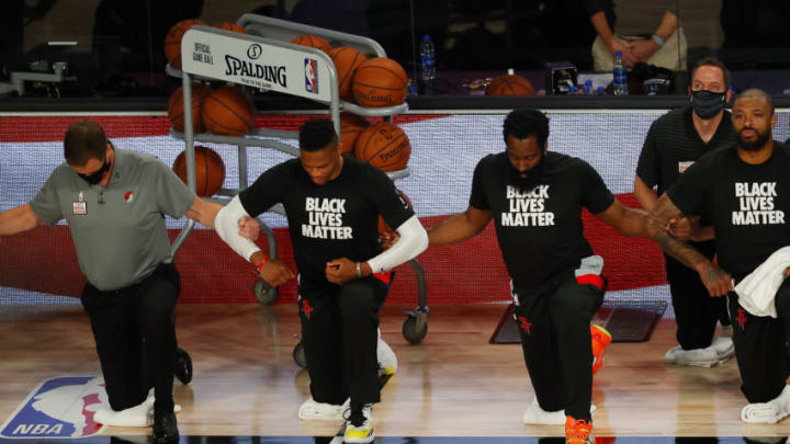 Houston Rockets Russell Westbrook James Harden (Photo by Kevin C. Cox/Getty Images)