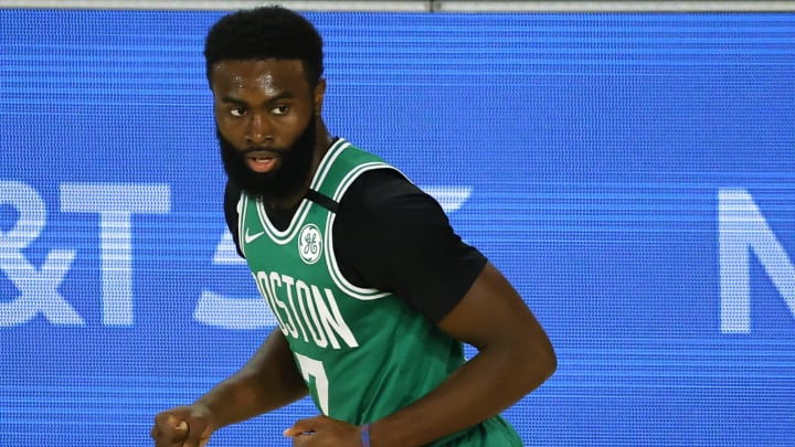 Jaylen Brown of the Boston Celtics (Photo by Kevin C. Cox/Getty Images)