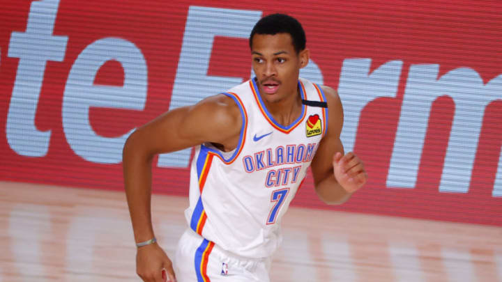 Darius Bazley #7 of the Oklahoma City Thunder (Photo by Kevin C. Cox/Getty Images)