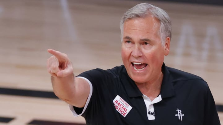 Houston Rockets Mike D'Antoni (Photo by Kevin C. Cox/Getty Images)