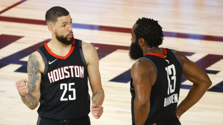 Austin Rivers James Harden (Photo by Kevin C. Cox/Getty Images)