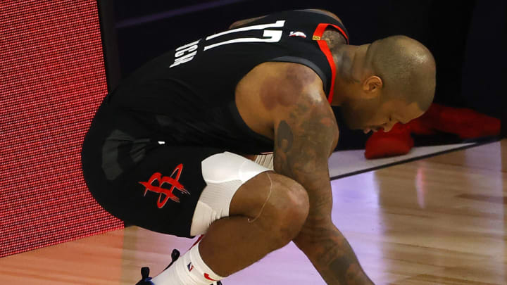 P.J. Tucker #17 of the Houston Rockets (Photo by Kevin C. Cox/Getty Images)