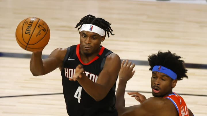Danuel House Jr. #4 of the Houston Rockets (Photo by Kevin C. Cox/Getty Images)
