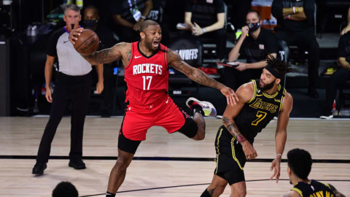 P.J. Tucker #17 of the Houston Rockets (Photo by Douglas P. DeFelice/Getty Images)