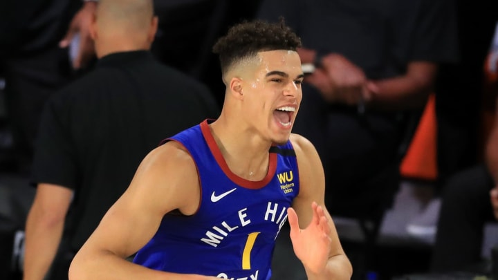 Michael Porter Jr. #1 of the Denver Nuggets (Photo by Michael Reaves/Getty Images)