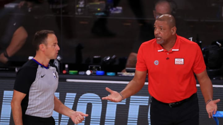 Doc Rivers of the LA Clippers (Photo by Michael Reaves/Getty Images)